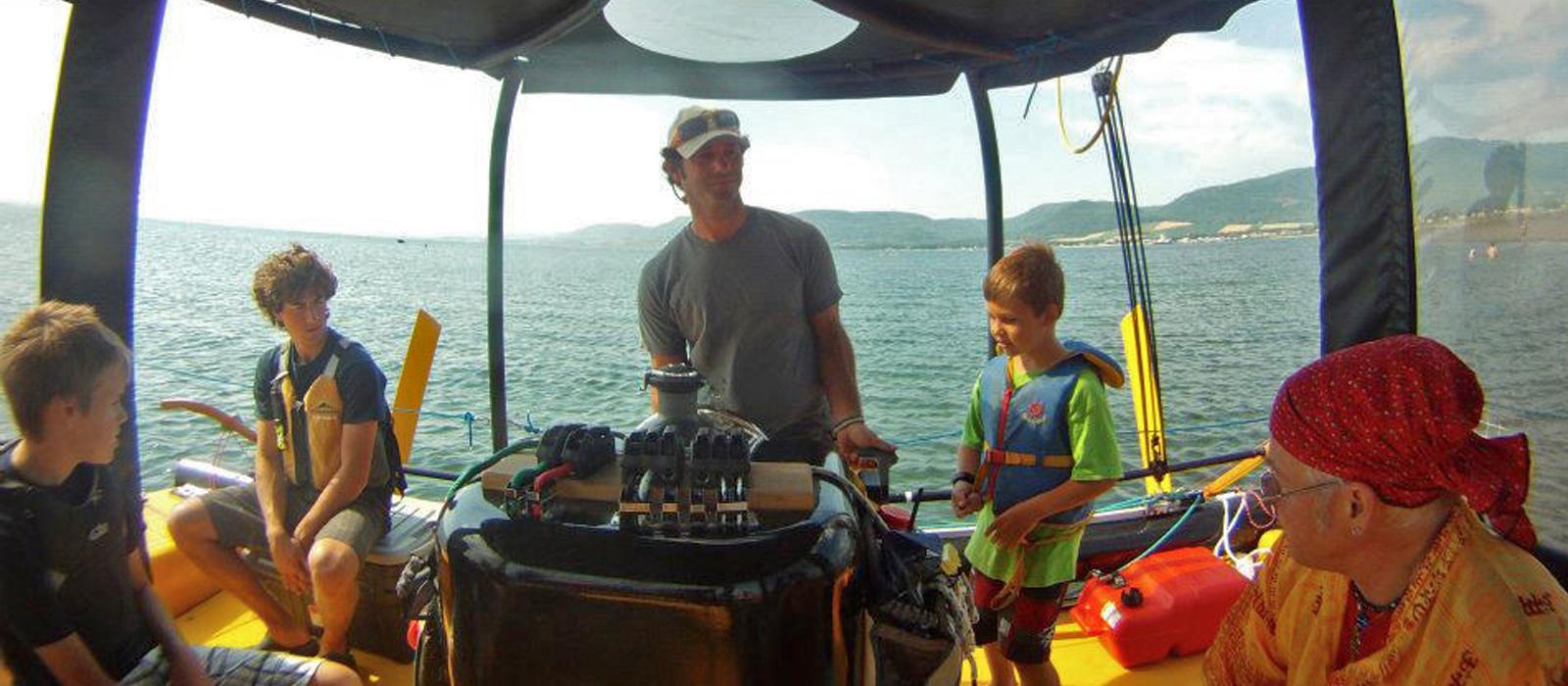 Écovoile   Excursion catamaran taxsea